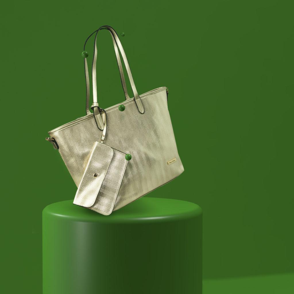 borsa sfondo verde